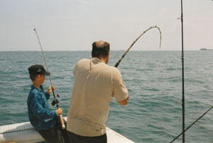ship's channel fishing